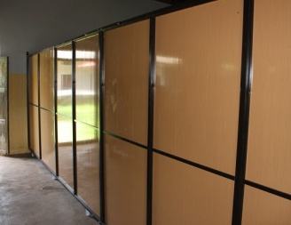 Proposed classroom partitions